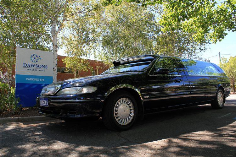 Dawsons Funeral Herse Vehicle